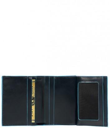 Портмоне Piquadro Blue Square PU3244B2 с отдел. для монет темно-синее