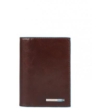 Портмоне Piquadro Bl Square PU3243B2_MO функциональное коричневое
