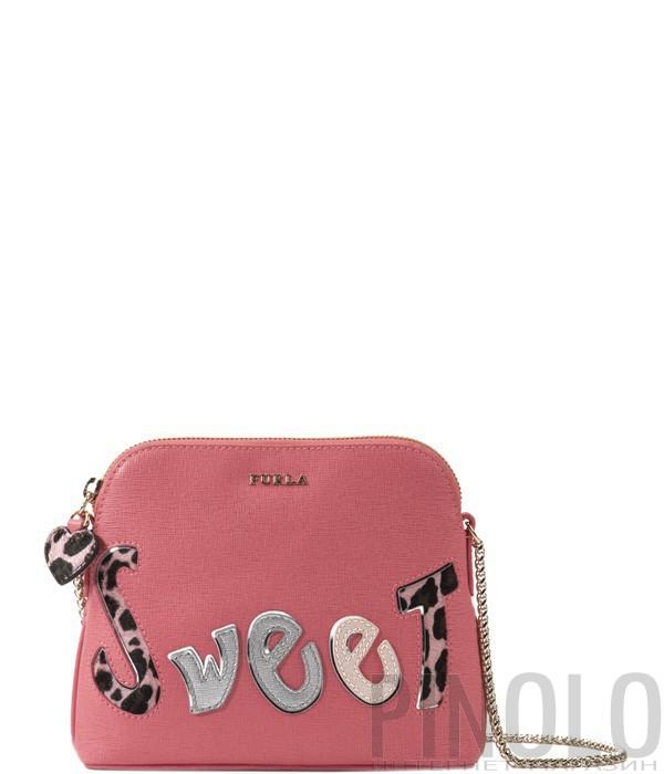 a3a7e4488d12 Сумка Furla Meridienne Sweet оригинального дизайна розовая - купить ...