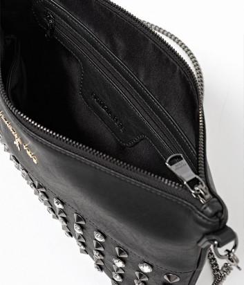 2177170f55df ... Макси сумка-клатч Patrizia Pepe на длинной ручке-цепочке черная ...