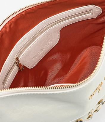 4c5ed3ed4276 ... Макси сумка-клатч Patrizia Pepe на длинной ручке-цепочке белая ...