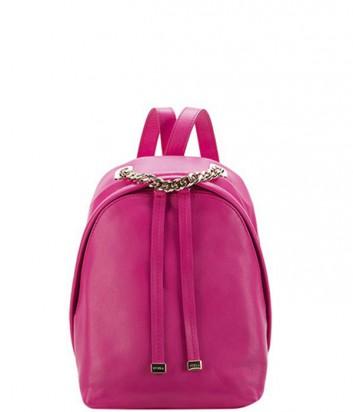 7d2790868ed5 Кожаный рюкзак-сумка Furla Spy Bag 773352 ярко-розовый