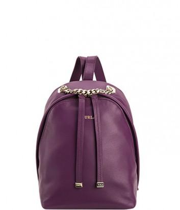73f50dfe499d Кожаный рюкзак-сумка Furla Spy Bag 783200 фиолетовый