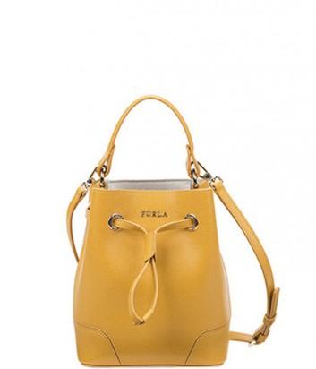 b0fa06485fc Маленькая сумка Furla Stacy 787717 желтая
