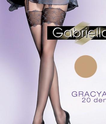 Колготки Gabriella Gracia 20 den без трусиковой части телесные