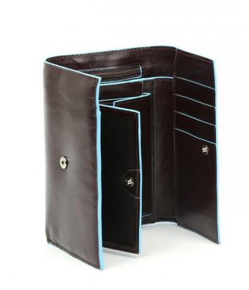 Портмоне Piquadro Blue Square PD1853B2_MO вертикальное шоколадное