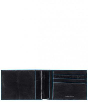 Портмоне Piquadro PU1928B2_N с отделением для чековой книжке черное