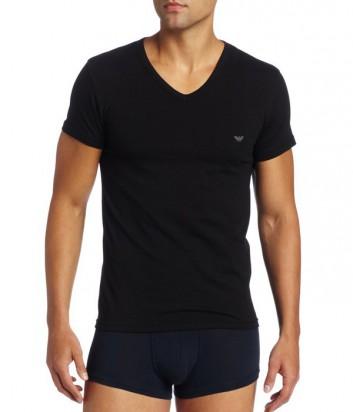 Мужская футболка Emporio Armani синяя