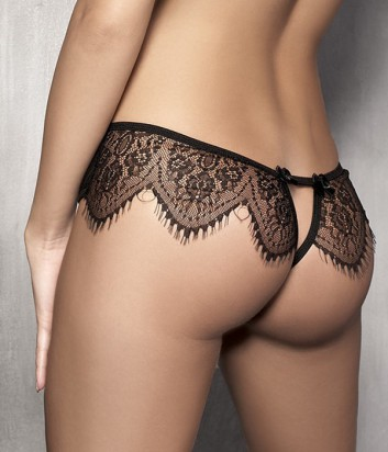 Кружевные шорты Anais Abbigail черные
