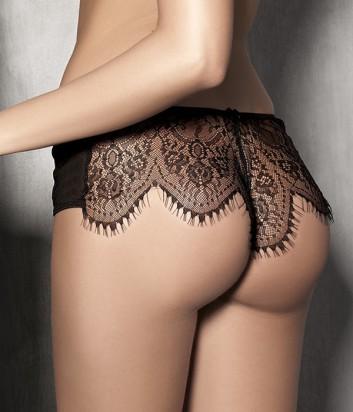 Кружевные шорты Anais Imagine черные