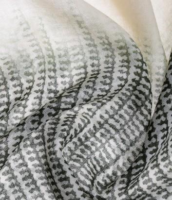 Женский платок Pollini из итальянкой шерсти с абстрактным рисунком