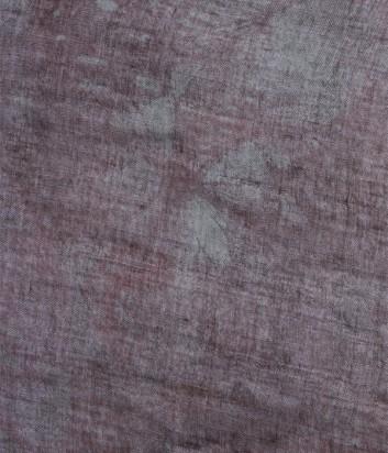 Женский платок 813 Ottotredici с нежным узором шоколадного цвета