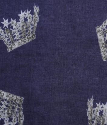 Женский платок 813 Ottotredici с оригинальным рисунком серый