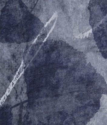 Женский платок 813 Ottotredici с нежным принтом серый