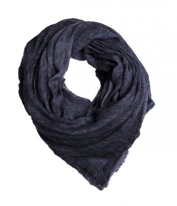 Женский платок 813 Ottotredici однотонный темно-серый