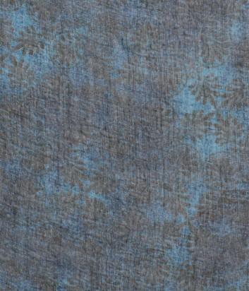 Женский платок 813 Ottotredici с нежным узором зеленый