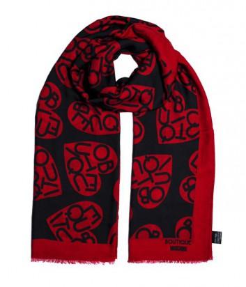 Шарф Moschino Boutique MS-009 красный