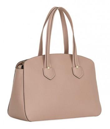Кожаная сумка Furla Giada 870029 с высокими ручками нежно-розовая
