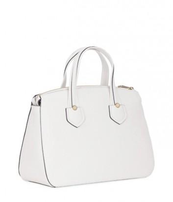 Кожаная сумка Furla Giada 870039 с внешним карманом белая
