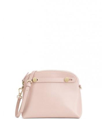 Кожаная сумка через плечо Furla Piper Mini 850733 нежно-розовая