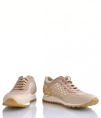 Кроссовки Tosca Blu 186 золотые