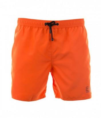 Шорты для плавания Emporio Armani 6P730 оранжевые