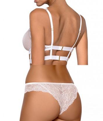 Комплект Ewa Bien Safona мягкое бюстье B910 и бразилианки C322 белый