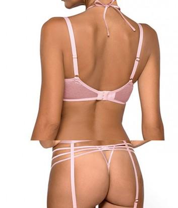 Комплект Ewa Bien Safona мягкий бюст B119 и стринги C213 розовый