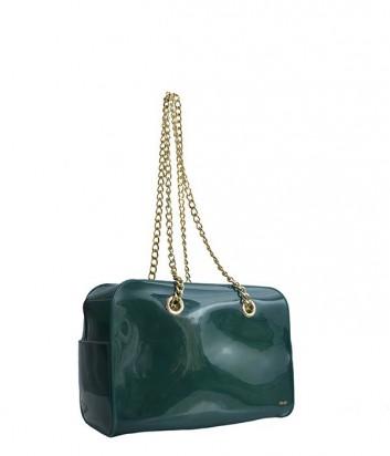 Силиконовая сумка Menghi 607 зеленная