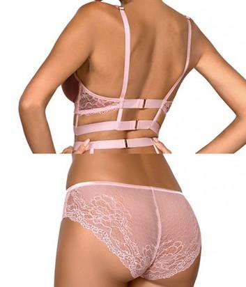 Комплект Ewa Bien Safona мягкое бюстье B910 и трусики C110 розовый