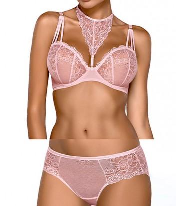 Комплект Ewa Bien Safona мягкий бюст B119 и трусики C110 розовый