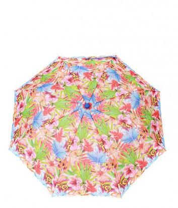 Женский зонт полуавтомат GF Ferre GR-1 оранжевые цветы