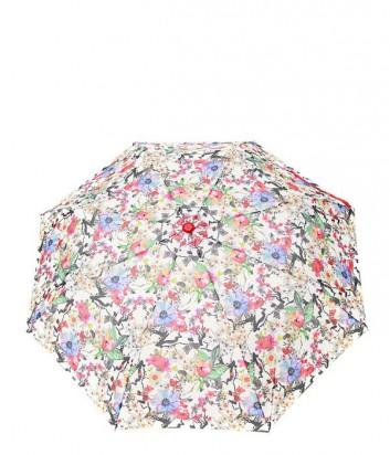 Женский зонт полуавтомат GF Ferre GR-1 белые цветы