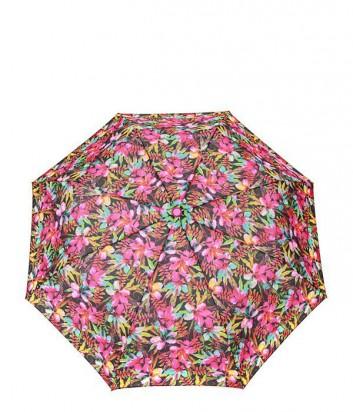 Женский зонт полуавтомат GF Ferre GR-1 розовые цветы