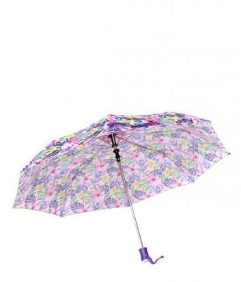Женский зонт полуавтомат GF Ferre GR-1 фиолетовые цветы