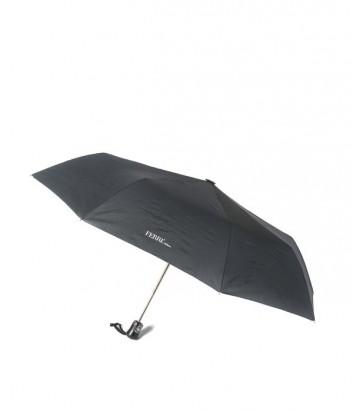 Зонт-полуавтомат GF Ferre LA-7003 черный с синим кантом