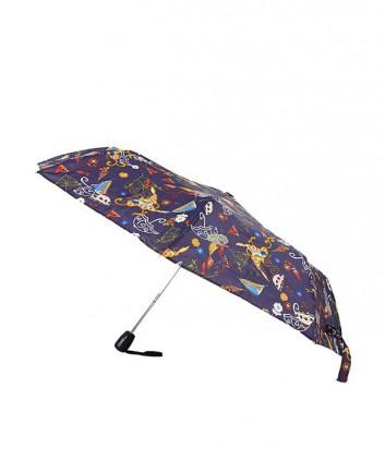 Зонт-полуавтомат GF Ferre LA-6003 с ярким принтом