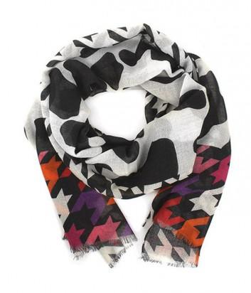 Женский шарф Moschino Boutique MS-007 комбинированный красный