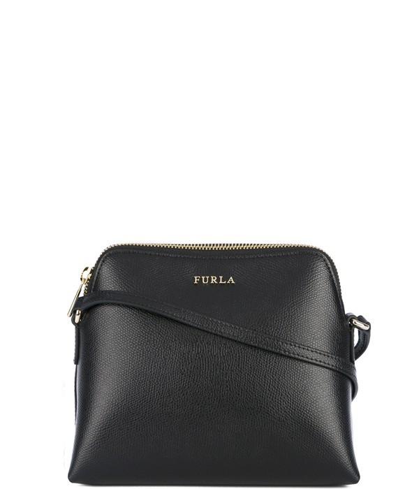 dc01e0c15f1d Черная сумка через плечо Furla Boheme 903992 и две косметички ...