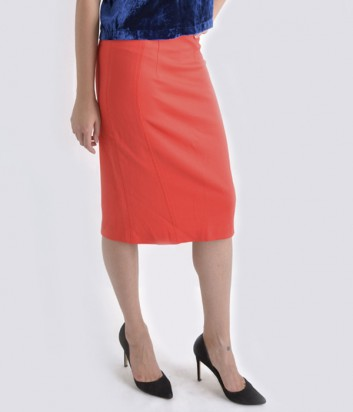 Классическая юбка-карандаш Imperial коралловая