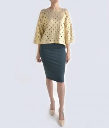Классическая юбка-карандаш Imperial изумрудная