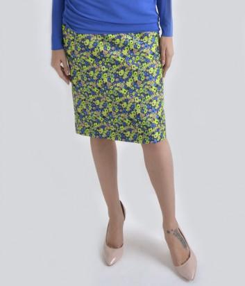 Жаккардовая юбка Globe с ярким цветочным принтом