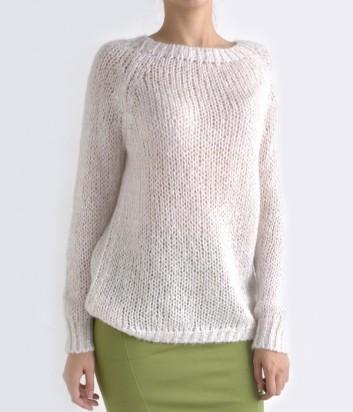 Женский свитер Kontatto молочный