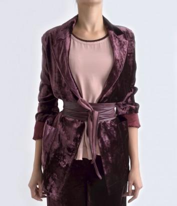 Бархатный пиджак Imperial бордовый