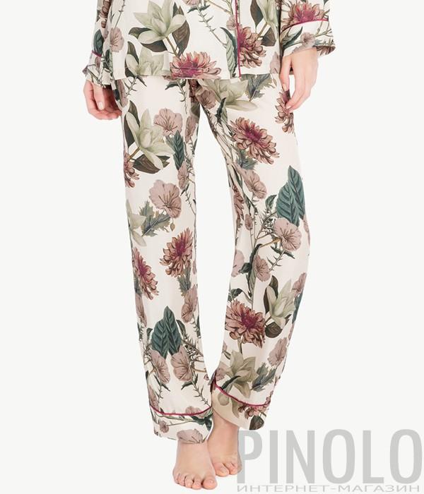Пижамные брюки Twin Set LA7NLL с цветочным рисунком