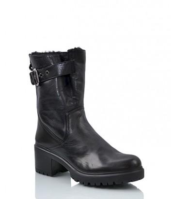 Зимние ботинки Loriblu 4537 на меху черные