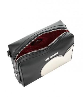 fddf89803002 Сумка Love Moschino JC4033 с широким плечевым ремнем черная - купить ...