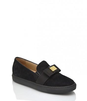 Замшевые туфли Norma J.Baker 9707 черные