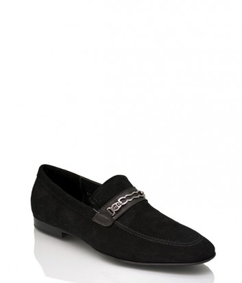 Замшевые туфли Mario Bruni 57280 черные
