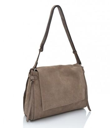 Замшевая сумка Gianni Chiarini 6020 серая